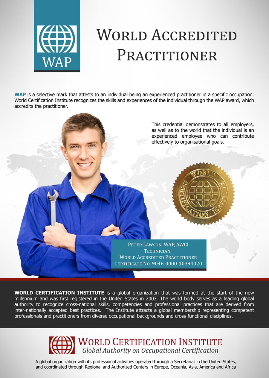 World Accredited Practitioner