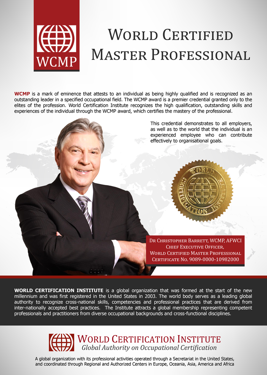 World Certified Master Professional