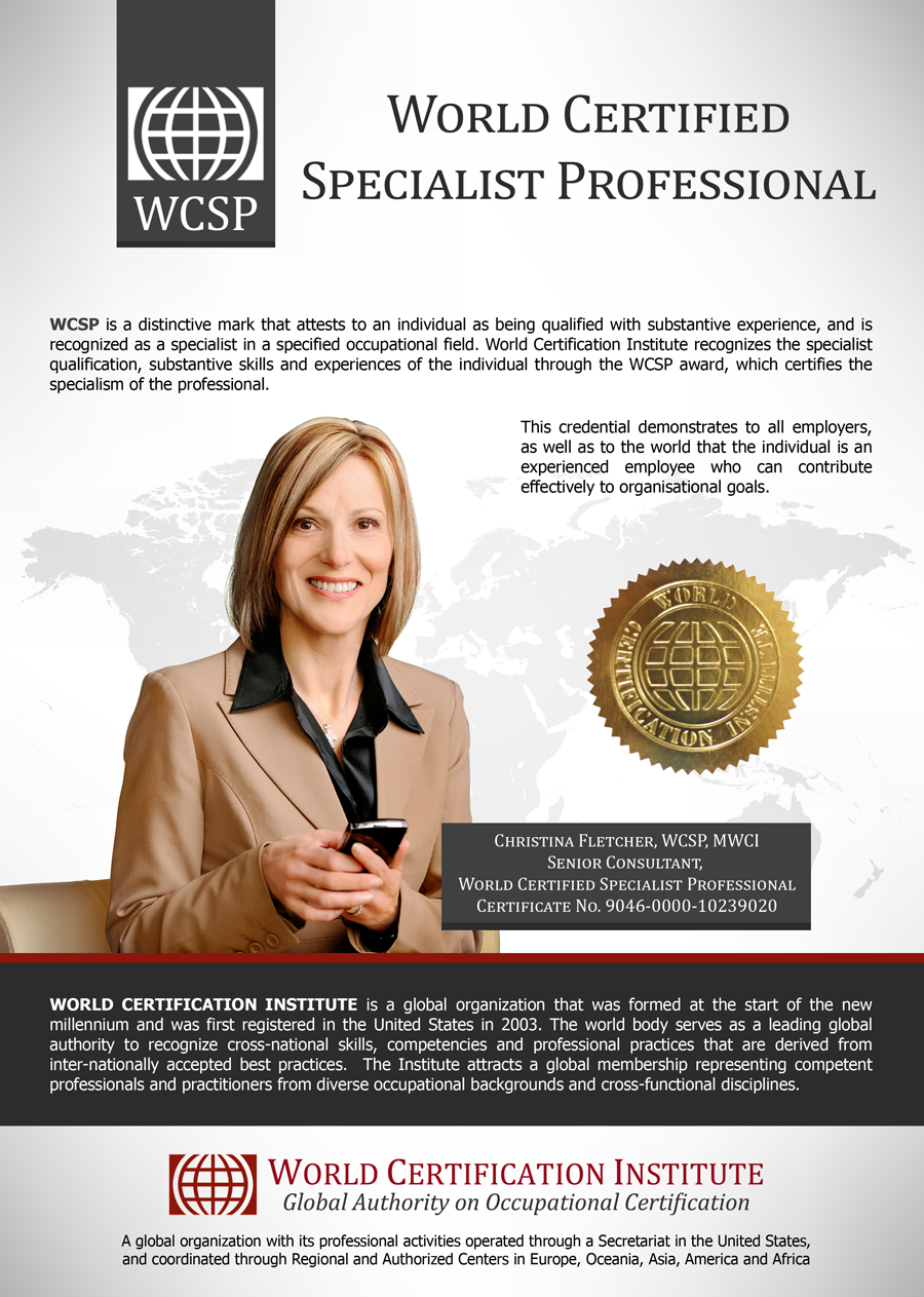 World Certified Specialist Professional